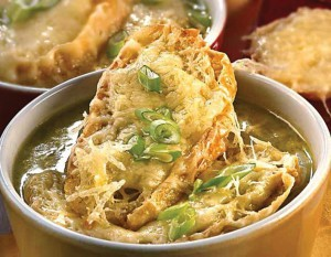 Суп луковый по-парижски