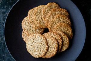 Печенье в кунжуте