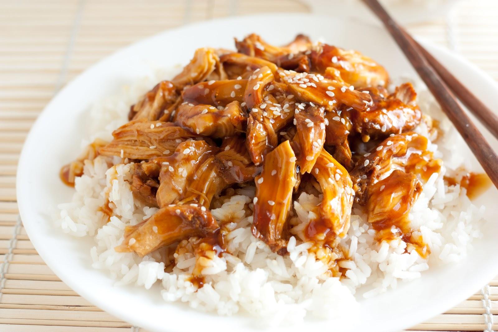Рецепт курица с рисом терияки рецепт