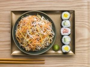 японский салат намасу