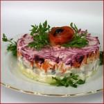 Салат сельдь под шубой классический рецепт с фото
