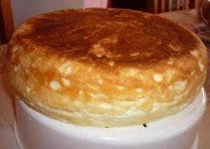 пирог с манкой и яблоками