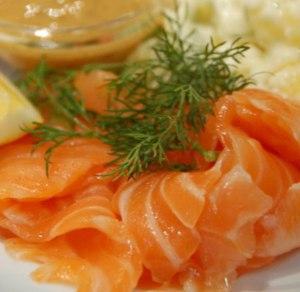 лосось сололеный со специямии
