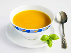 суп -пюре с тыквой