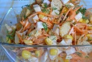 салат карусель