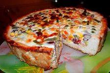 пирог с гавайской смесь