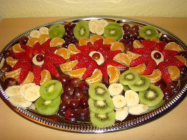 Красивые нарезки из фруктов
