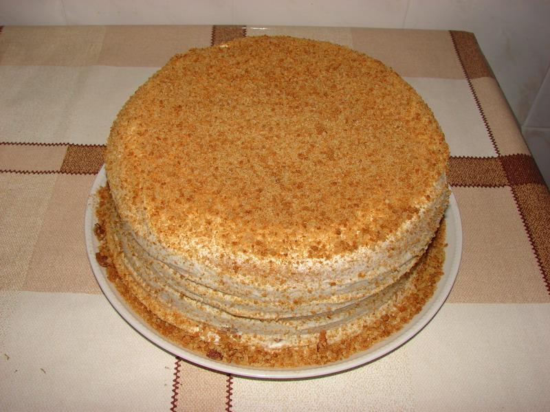 Торт сметанник простой и быстрый рецепт