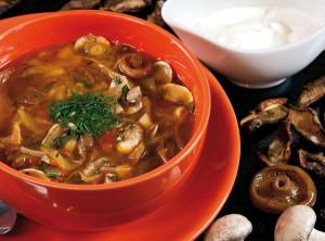 Солянка грибная , рецепты приготовления постных блюд