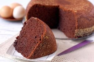 Бисквит шоколад на кипятке