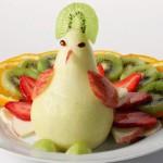 Оригинальные фруктовые нарезки для детей