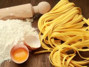 Рецепт домашней пасты тесто
