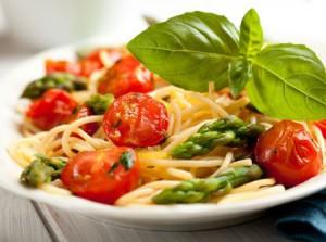 Спагетти с соусом Песто