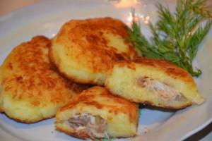 Картофельные зразы рецепт пирготвления с различными начинками