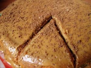Кофейный пирог рецепт с фото