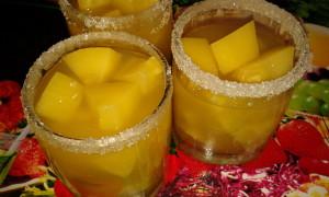 Кабачки как ананасы с алычой рецепт