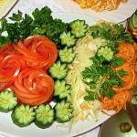 Красивые овощные нарезки