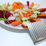 Оформление нарезок овощами