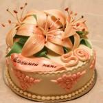 Юбилейный торт для мамы