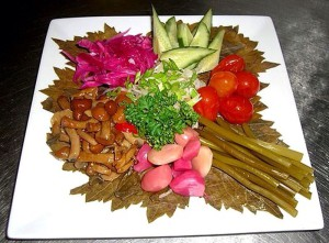 Овощные красивые нарезки