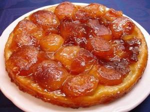 Яблочный французский пирог Тарт Татен