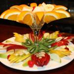 красиво подать на стол фрукты