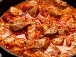 Гуляш из свинины рецепты