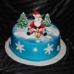 Классный новогодний тортик