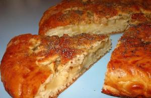 Пирог Заливные яблочки