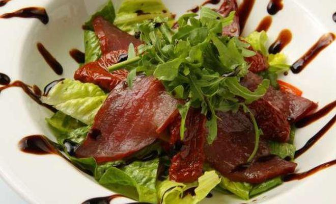 Салат итальянский со спаржевой фасолью