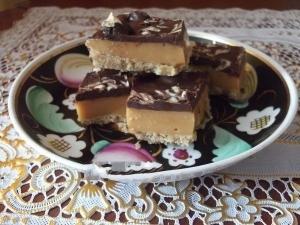 Домашний твикс (батончик с шоколадом)