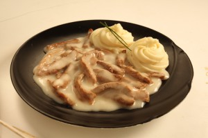 Бефстроганоф из телятины рецепт приготовления
