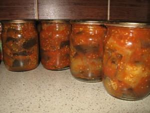 запеченные баклажаны в томате