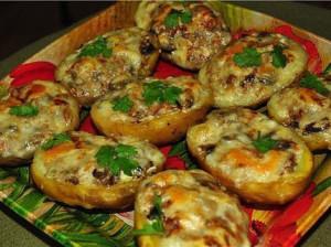 картошечка в духовке