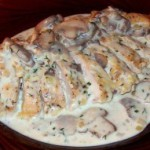 рыба с грибами в соусе