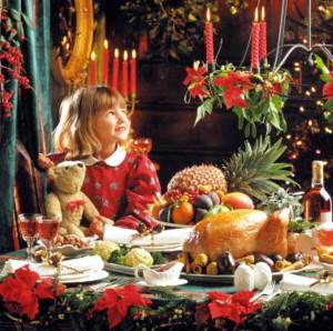 Меню на Рождество