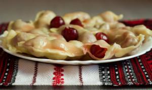 Украинские вареники рецепт