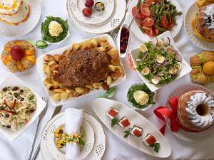 Какие салаты приготовить на пасхальный стол