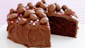 Пасхальный торт восхитительгый шоколадный восторг