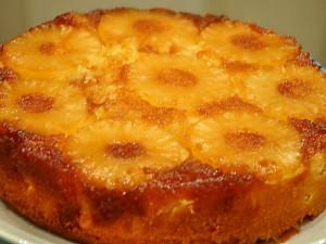 Ананасовый пирог рецепт с фото
