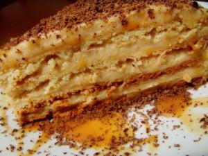 Торт Крем -брюле рецепт с фото