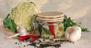 Цветная капуста в маринаде рецепты