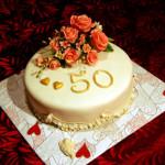 Торт на торжество 50 лет
