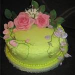 Украшение тортов на юбилей