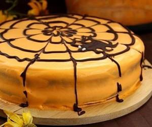 Пирог с кровью на Хэллоуин
