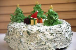 Закусочные торты на Новый год