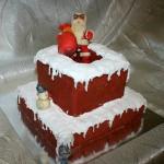 Готовим дома новогодний праздничный торт