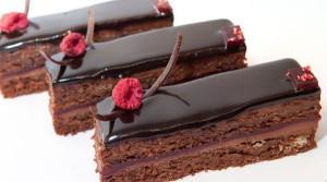 Блестяшая шоколадная глазурь