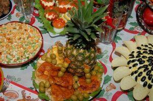 Салаты и закуски на Рождество