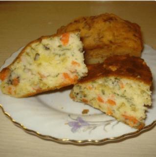 Наливной пирог